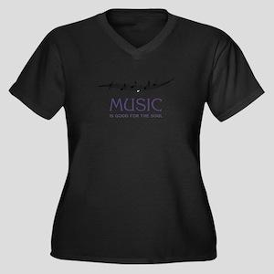 Music For Soul Plus Size T-Shirt