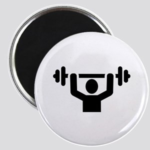 Weightlifting powerlifting Magnet