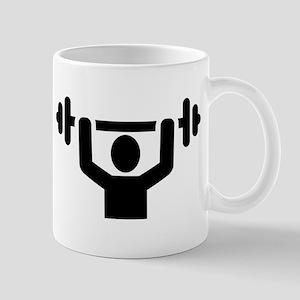 Weightlifting powerlifting Mug