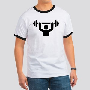 Weightlifting powerlifting Ringer T
