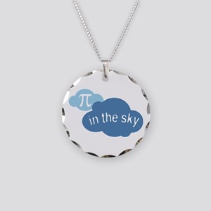 Pi in the Sly Math Humor Necklace