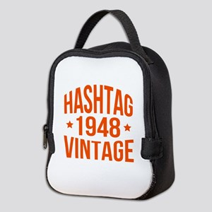 Hashtag 1948 Vintage Neoprene Lunch Bag