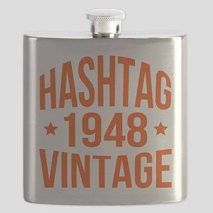Hashtag 1948 Vintage Flask