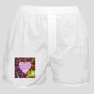 MATTHEW 19:26 Boxer Shorts