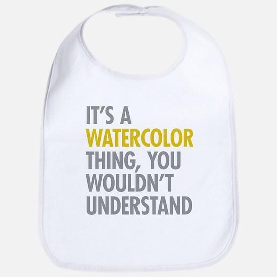 Its A Watercolor Thing Bib