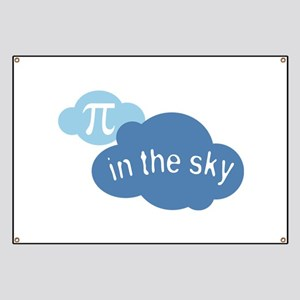 Pi in the Sly Math Humor Banner