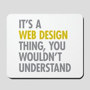 Web Design Thing Mousepad