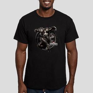 Web Warriors Agent Ve Men's Fitted T-Shirt (dark)