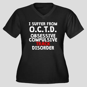 Obsessive Compulsive Track Disorder Plus Size T-Sh