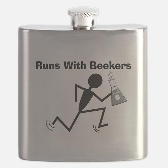 Chemist Humor Flask