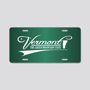 Vermont State of Mine Aluminum License Plate