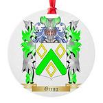 Gregg Round Ornament