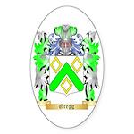 Gregg Sticker (Oval 50 pk)