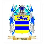 Gregersen Square Car Magnet 3
