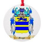 Greger Round Ornament
