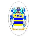 Greger Sticker (Oval 50 pk)