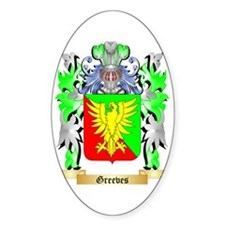 Greeves Sticker (Oval)