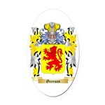 Greeson Oval Car Magnet