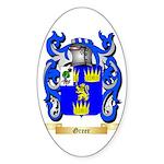 Greer Sticker (Oval 50 pk)