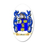 Greer 20x12 Oval Wall Decal