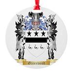 Greenwood Round Ornament