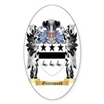 Greenwood Sticker (Oval 10 pk)