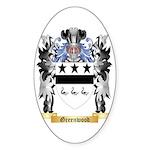 Greenwood Sticker (Oval 50 pk)