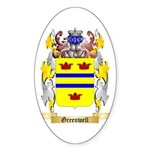 Greenwell Sticker (Oval 50 pk)