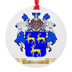 Greenman Round Ornament