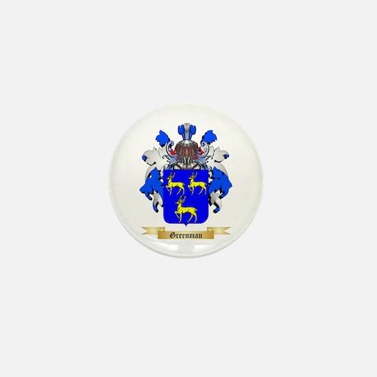 Greenman Mini Button