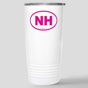 New Hampshire NH Euro O Stainless Steel Travel Mug