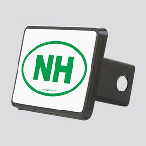 New Hampshire NH Euro Oval Rectangular Hitch Cover