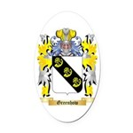 Greenhow Oval Car Magnet