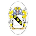 Greenhough Sticker (Oval 50 pk)