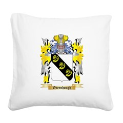 Greenhough Square Canvas Pillow