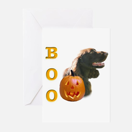 Field Spaniel Boo Greeting Cards (Pk of 10)