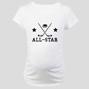Hockey All Star Maternity T-Shirt