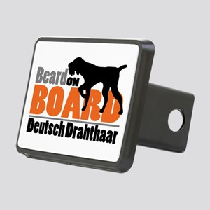 Beard on Board - DD Rectangular Hitch Cover
