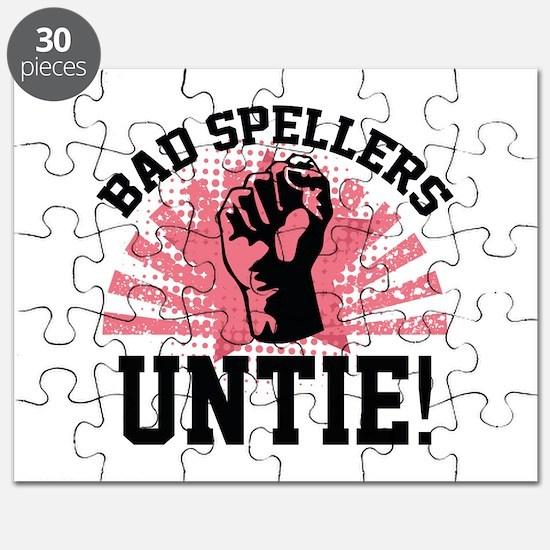Bad Spellers Untie! Puzzle
