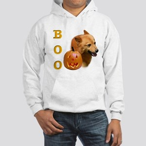 Finnish Spitz Boo Hooded Sweatshirt