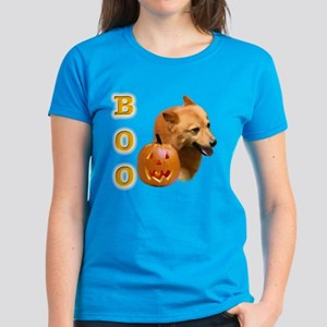 Finnish Spitz Boo Women's Dark T-Shirt