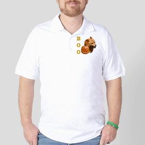 Finnish Spitz Boo Golf Shirt