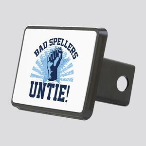 Bad Spellers Untie! Rectangular Hitch Cover