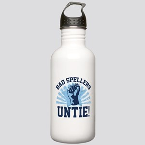 Bad Spellers Untie! Stainless Water Bottle 1.0L