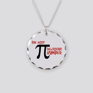 Pi - The Most Delicious Number Shirt Necklace