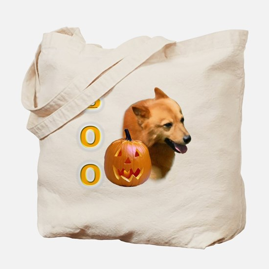Finnish Spitz Boo Tote Bag