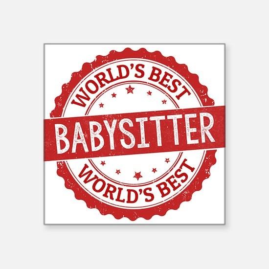 World's Best Babysitter Sticker