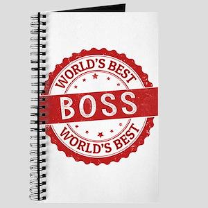 World's Best Boss Journal