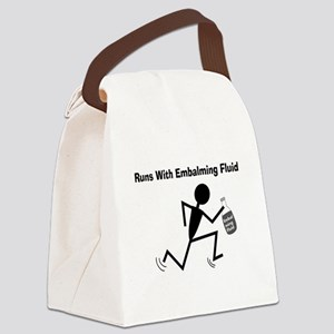 Mortuary Humor Canvas Lunch Bag