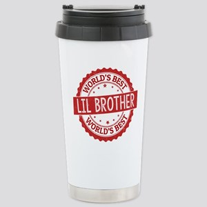 World's Best Lil Brothe Stainless Steel Travel Mug
